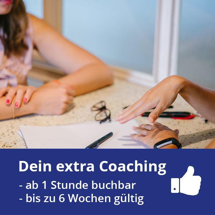 Extra Coaching Stunden